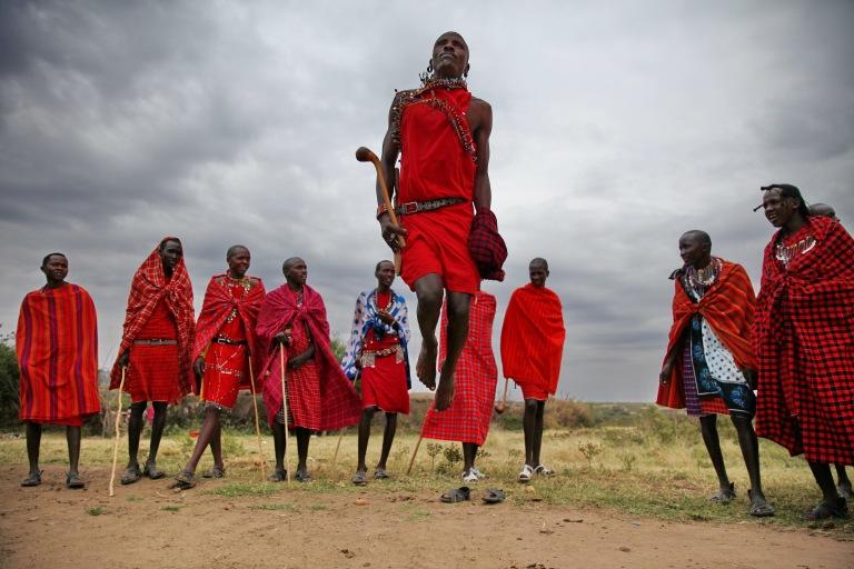 Kenya_Massai Village迎賓舞_160722_A051.JPG